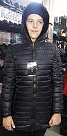 Двухсторонняя черная женская курточка S.West 7106 скидка
