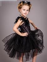 Костюм - Чёрный лебедь, украшение в подарок., фото 2