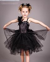 Костюм - Чёрный лебедь, украшение в подарок., фото 3