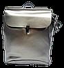 Классический женский рюкзак бронзового цвета из натуральной кожи NОV-009933