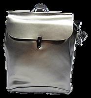 Классический женский рюкзак бронзового цвета из натуральной кожи NОV-009933, фото 1