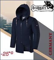 Куртка зимняя мужская Braggart Dress Code - 2066M темно-синяя