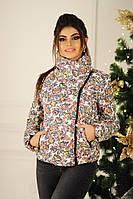 Женская куртка косуха арт 2154-223