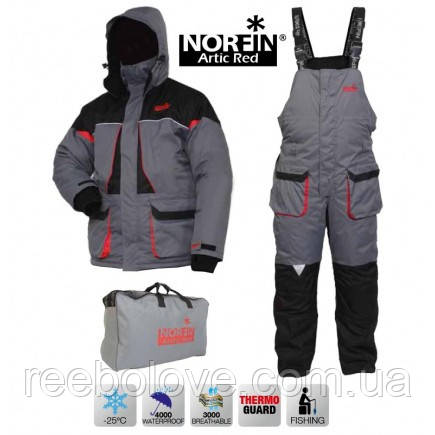 Костюм Norfin зимний Arctic Red S (до -25)