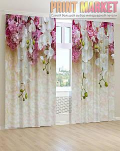 Фото шторы свисающая орхидея
