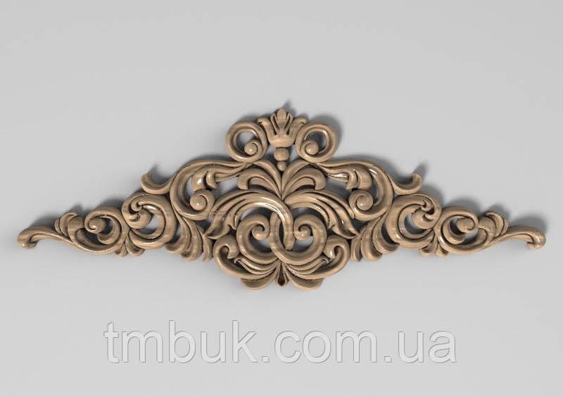 Горизонтальный декор 21 деревянная накладка - 200х70 мм