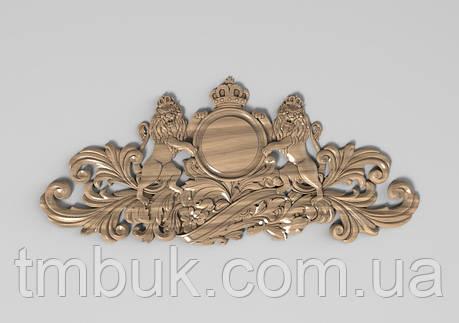 Горизонтальный декор 23 деревянная накладка - 450х200 мм, фото 2