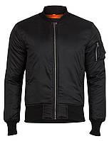 """Куртка """"Surplus Basic Bomber Jacket"""" (МА-1) Black"""