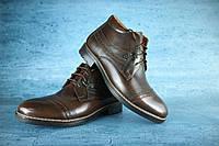 Ботинки мужские Броги с натуральной кожи Vivaro, фото 1