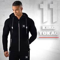 Японский спортивный костюм Kiro tokao 137 черно-белый