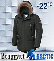 Модная мужская парка на зиму Braggart Брэггарт Арктик