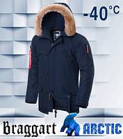 Braggart 3986 | зимняя парка мужская синяя