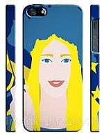 Украина чехол Україночка малюнок для айфон 5