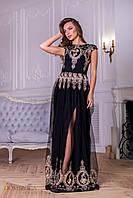 Роскошное платье с вышивкой, фото 1