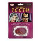 Зубы вампира с капсулами крови