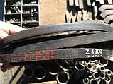 Приводний клиновий ремінь Z(0)-1900 Excellent, 1900 мм, фото 2