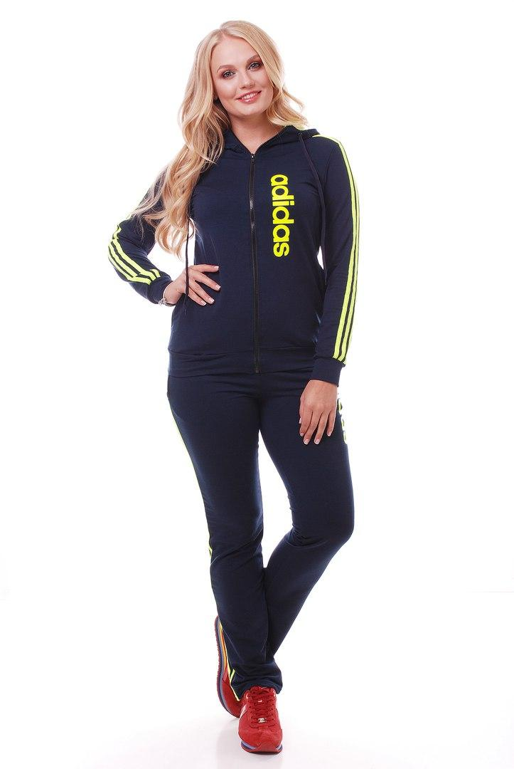 Костюм женский 48+ adidas арт 2168-223