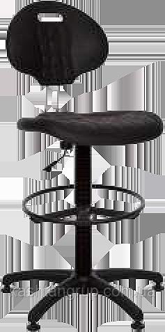 Кресло LABORANT GTS RING BASE PL62 STOPKI