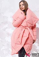 Женская зимняя куртка «одеяло»