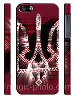 Украина чехол Український герб у вишіванці на айфон 5