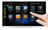 2din Автомагнитола Pioneer RK-A705 GPS + WiFi + 4Ядра +Android  6 + ВИДЕО-ОБЗОР