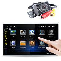 2din Автомагнитола Pioneer FY6501 GPS + WiFi + 4Ядра +Android  6+ КАМЕРА!