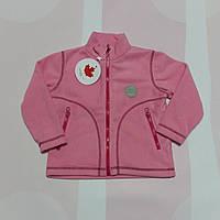 "Кофта на молнии флис ""Розовый"" арт. 503"