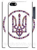 Украина чехол Український трезуб у вишиванці на айфон 5