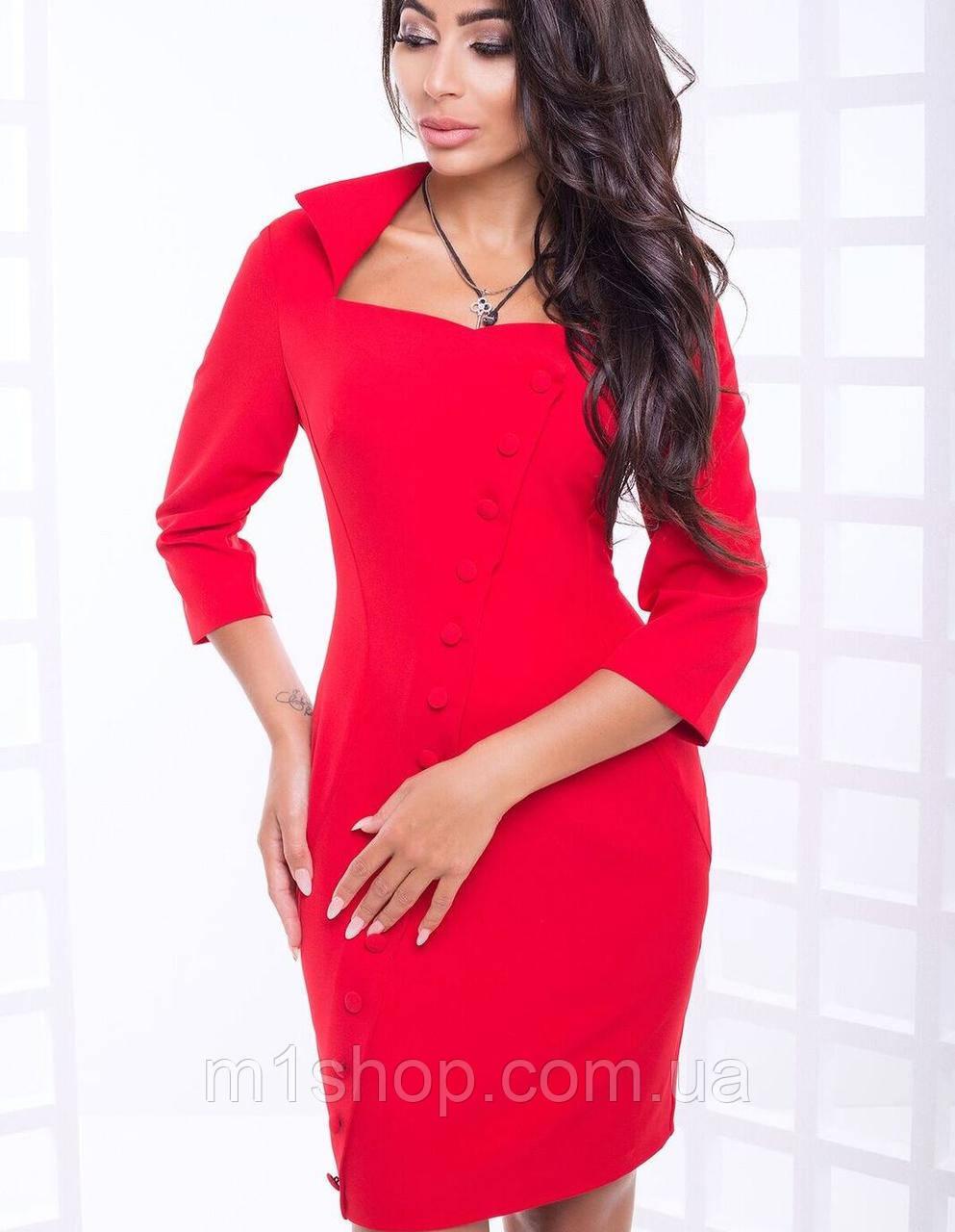 7e92e1971b4 Облегающее платье с эффектом запаха больших размеров (Лилиана lzn ...