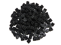 Плавающая загрузка Helix Black 12 х 13 мм 100 л (биозарузка для узв и биофильтров), фото 1
