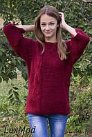 Вязаный женский свитер хулиганка, расцветок много