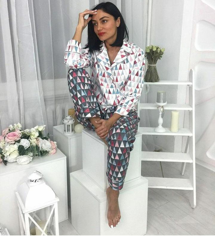 Хлопковая женская пижама - Рozetiv в Днепре aae15774073c2