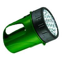 Ліхтар WT297  19LED 6v 4.5AH зелений
