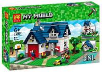 Конструктор LELE 33037 Minecraft 3в1 Загородный дом (аналог Lego Creator 5891)