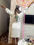 Жіночий халат з іменною вишивкою, фото 7