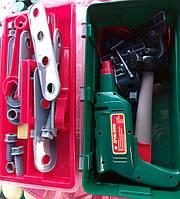 Детский игрушечный набор инструментов в чемодане