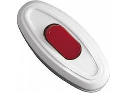 Выключатель для бра с красной кнопкой Luxel 1207