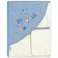 Детское полотенце с уголком Caramell