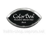 Пигментные чернила ColorBox Pigment Cat's Eye Ink Pad, 2x4 см — Black