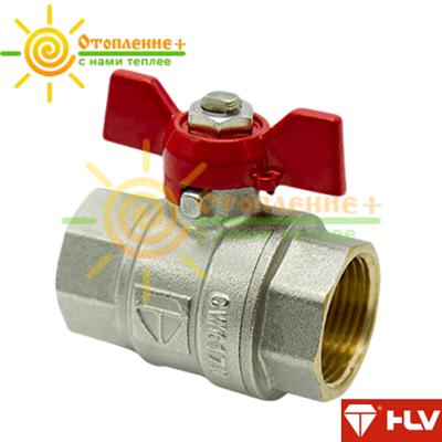 HLV Optima кран шаровый PN 40 3/4 ГГ бабочка