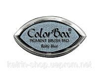 Пигментные чернила ColorBox Pigment Cat's Eye Ink Pad. 2x4 см — Baby Blue