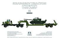 Модель для сборки - Краз 260 и Танк Т-55 AMV  1/35