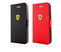 Чехол для iPhone 5C - Ferrari Scuderia Book Rubber