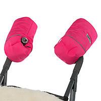 Тёплая двойная муфта на коляску и сани ДоРечи 2017