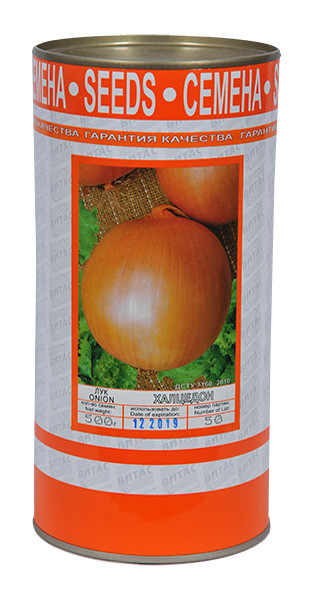 Семена лука репчатого Халцедон 500 г, ТМ Витас