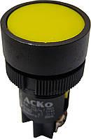 """Кнопка """"Старт"""" жовта (NO) XB2-EA151 АНАЛОГИ"""