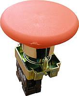 """Кнопка """"Грибок"""" (d 60мм) """"Стоп"""" червоний XB2-BR42 АНАЛОГИ"""