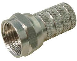 Гайка (F) для штекера (штекер F RG-6 18 mm) (100шт)