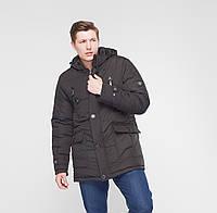"""Мужская зимняя куртка """"Victor"""" черный"""