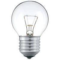 Лампа накаливания ДШ Іскра НОВА 230В 25Вт Е27 прозрачная